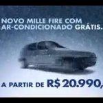 Spot Fiat Mille, spot brasiliano