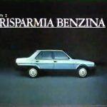 Fiat Regata – Risparmia benzina esci in Regata (1984)