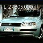 Spot Fiat Stilo, pensare avanti 2000