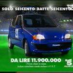 Fiat Seicento – SOLO SEICENTO BATTE SEICENTO (1998)