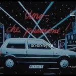 Fiat Uno – Che passione – Collage (1987)